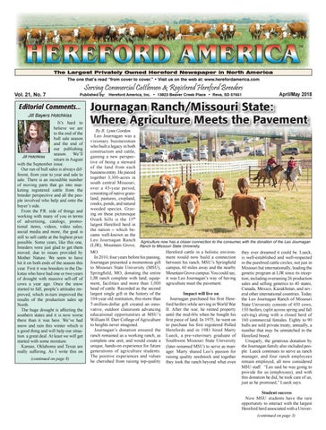 Hereford America Aprilmay 2018 By Jill H Issuu