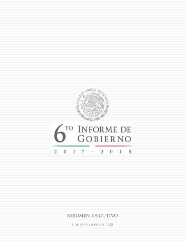 Sexto Informe de Gobierno de Enrique Peña Nieto by El Sol de México ... 06c16f7f6a8