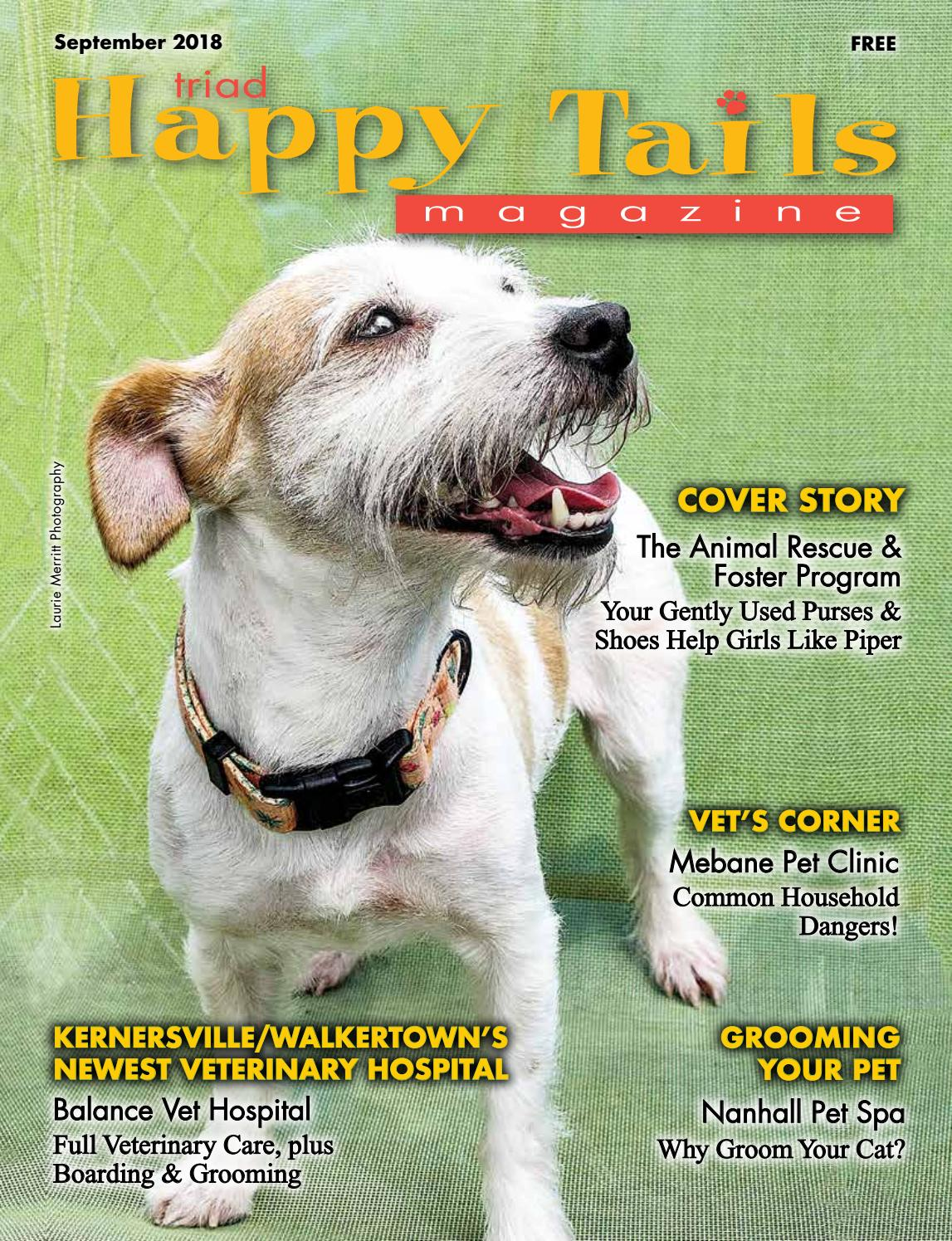 Triad Happy Tails Magazine Sept.18 by Beverly Beck   Associates - issuu 7729e448c8