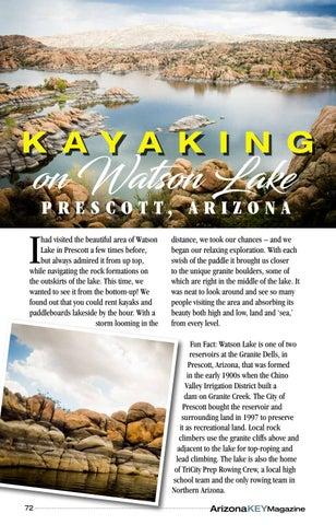 Page 72 of Kayaking on Watson Lake, Prescott, AZ