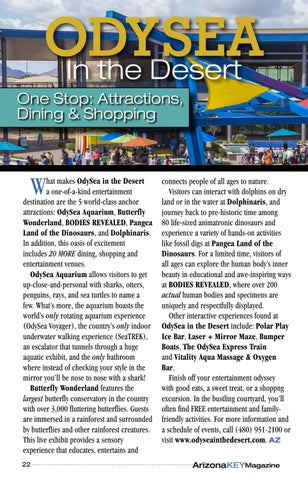 Page 22 of OdySea in the Desert: Five World Class Attractions in One Location
