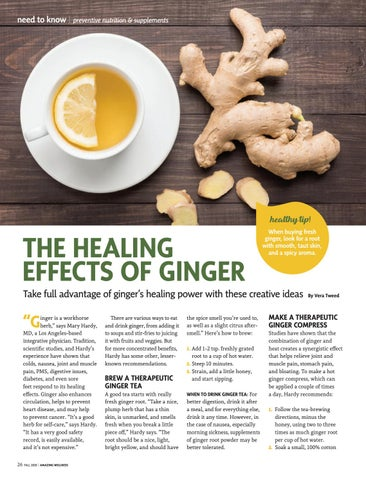Page 28 of The Healing Effects of Ginger