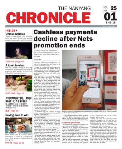 Vol  25 Issue 1 by Nanyang Chronicle - issuu