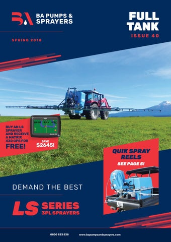 Ba Pumps And Sprayers Full Tank Issue 40 By Ba Pumps