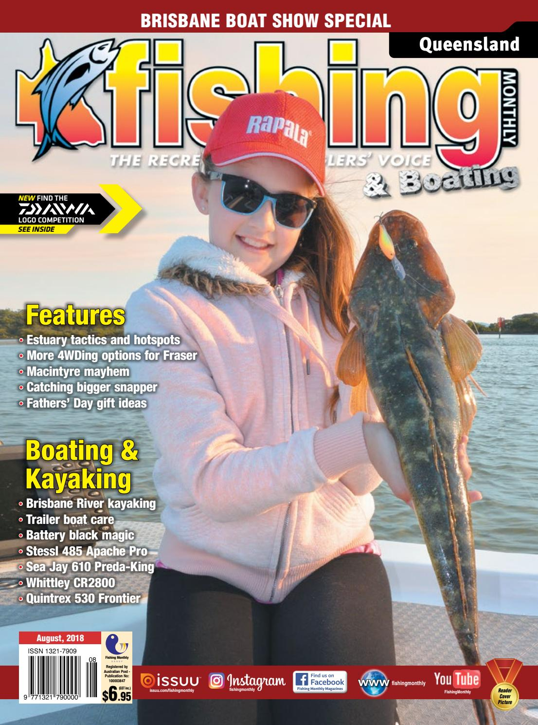 Queensland Fishing Monthly August 2018 by Fishing Monthly