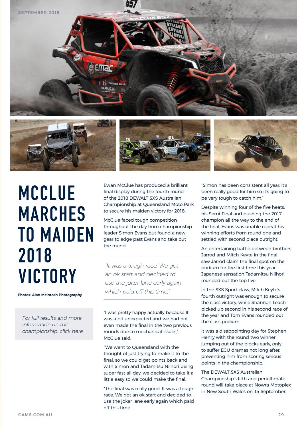 996fa1b951 Speed Read September 2018 by Confederation of Australian Motor Sport ...