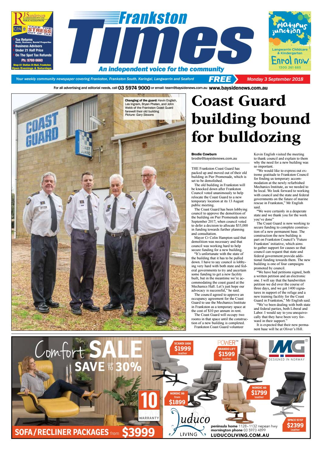 2936d4530ff7f 3 September 2018 by Mornington Peninsula News Group - issuu