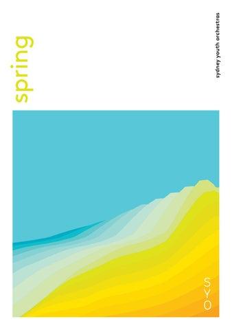 2018 Spring Brochure by Sydney Youth Orchestras - issuu