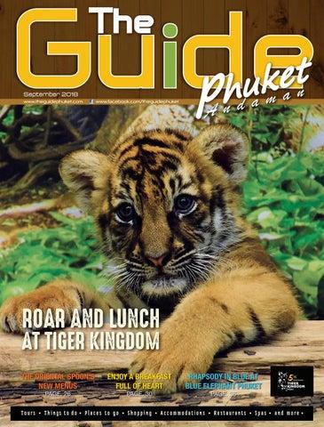 The Guide Phuket September 2018 By The Guide Phuket Issuu