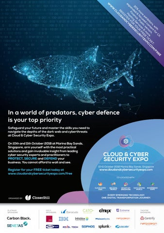 Cloud & Cyber Security Expo, Singapore Visitor Ticket 2018