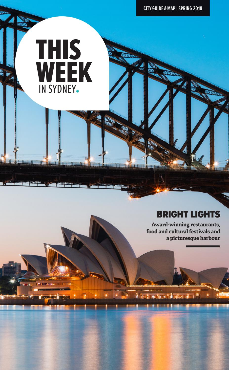 d427fc94395 This Week in Sydney - Spring 2018 by Hardie Grant Media - issuu