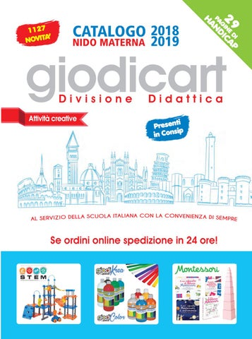 Giodicart 2018 2019 - Attività creative Parte I by Gruppo Giodicart ... b95b61535bd