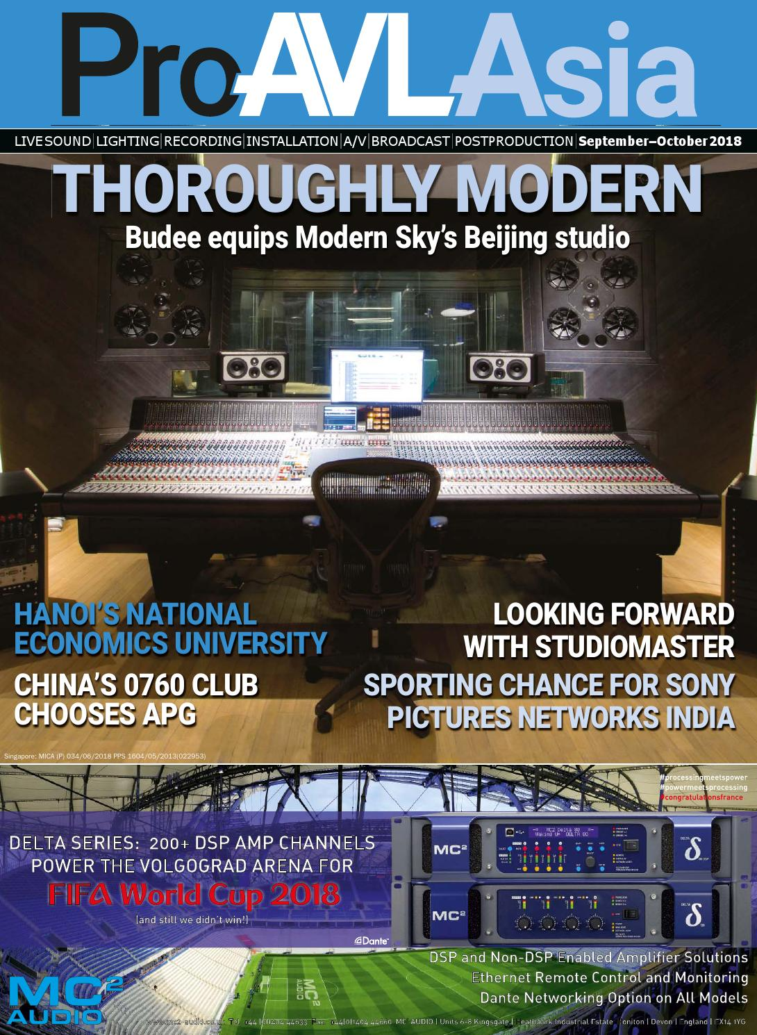 Pro Avl Asia September October 2018 By Blank Canvas Publishing Ltd Sony Ccu Intercom Wiring Harness Issuu