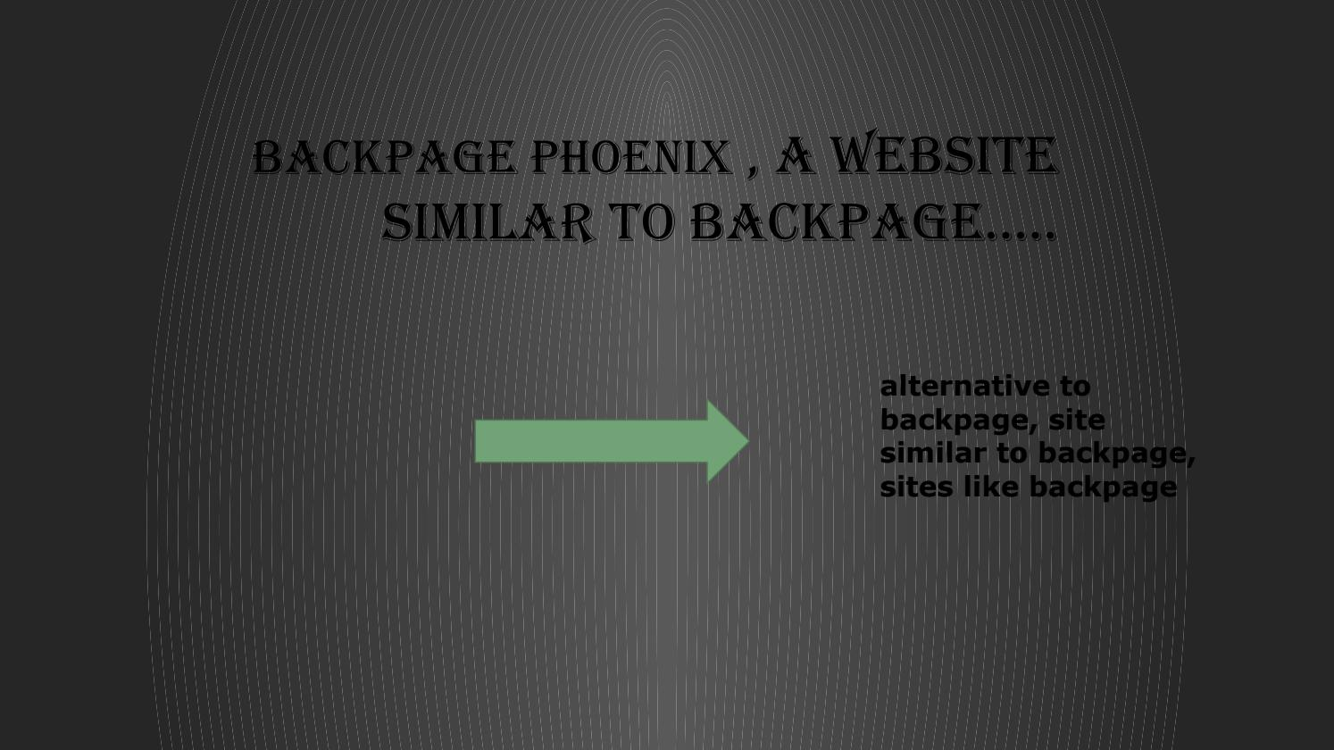 Backpage Phoenix Https Www Ebackpage Com Backpage Phoenix By Barrie Backpage Issuu