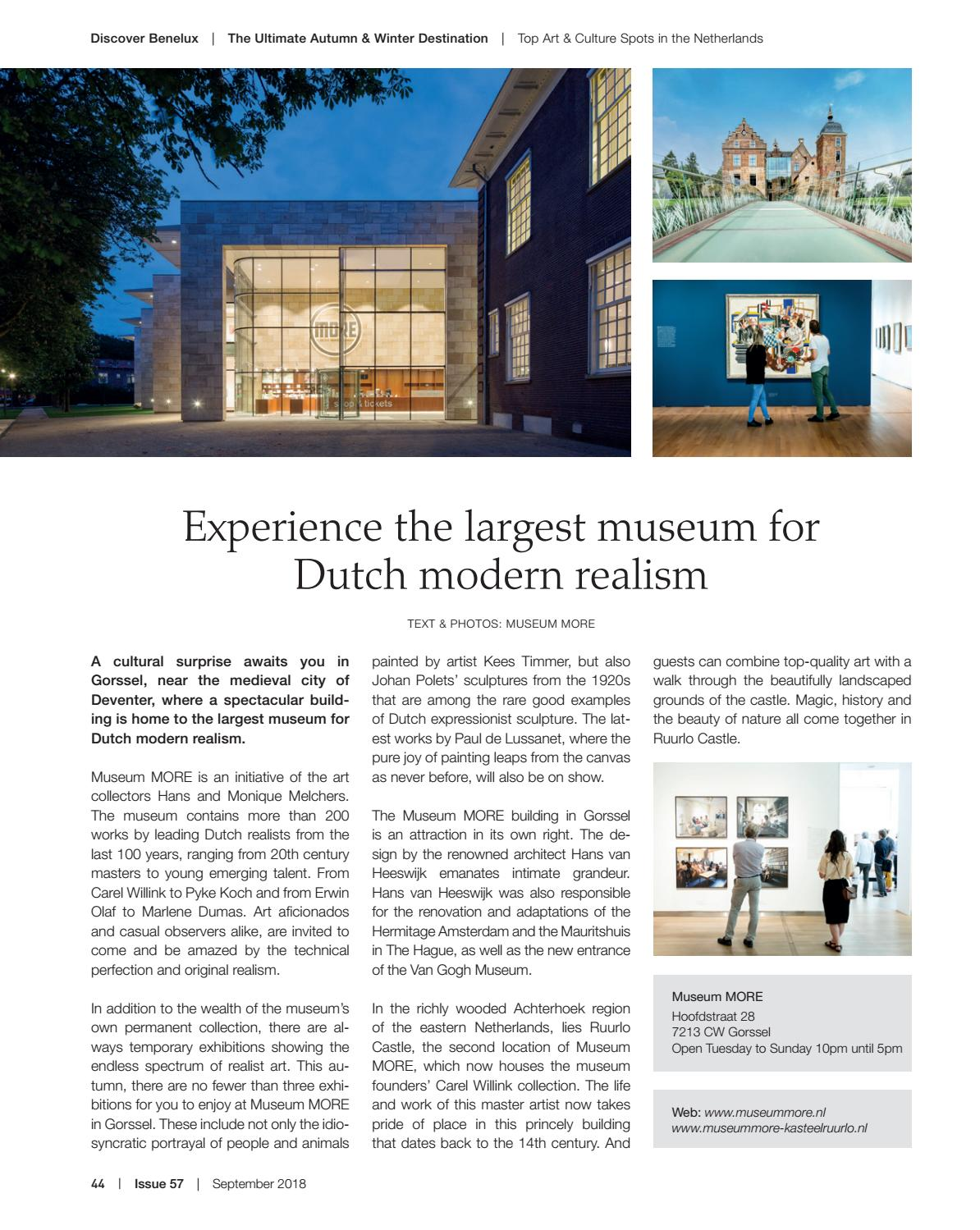 Discover Benelux, Issue 57, September 2018 by Scan Group - issuu
