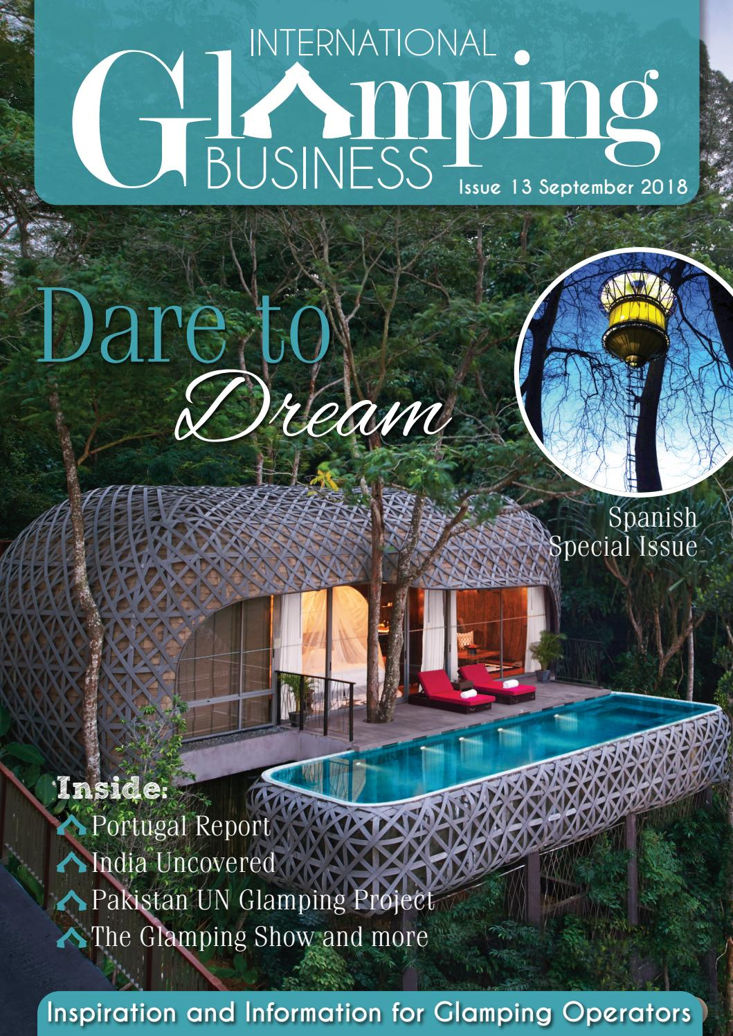 International Glamping Business September Issue by Holiday Parks