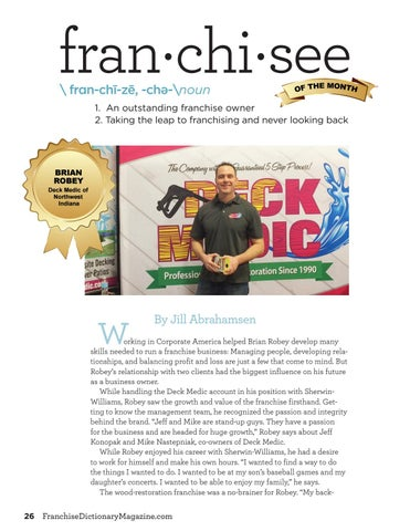 Page 26 of Franchisee of the month