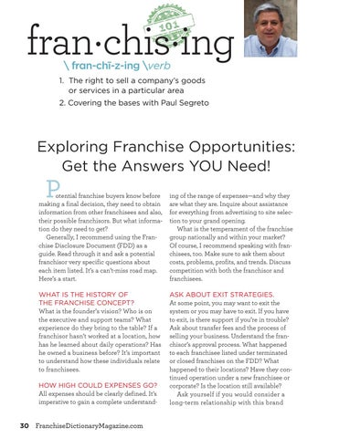 Page 30 of Franchising 101