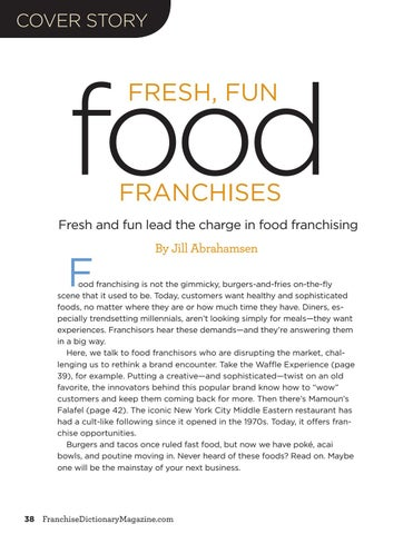 Page 38 of Food franchising now