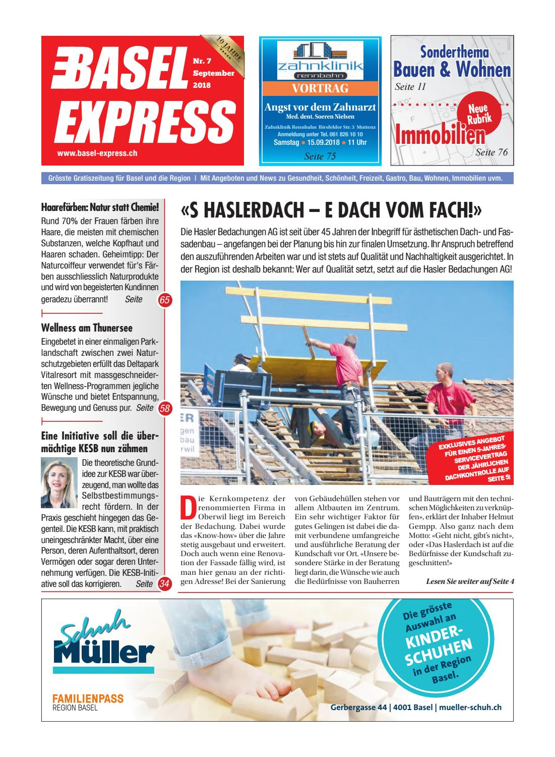 Basel Express Ausgabe 7/18 By TradeXpress   Issuu