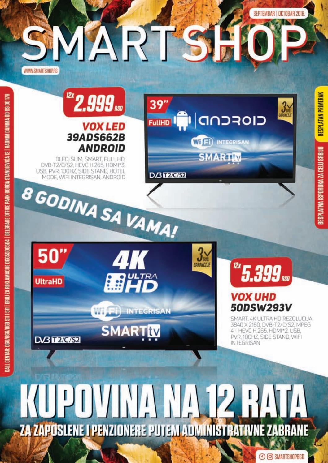 Katalog Oktobar Issuu Shop 2018 Septembar Smart I By 6fY7gby
