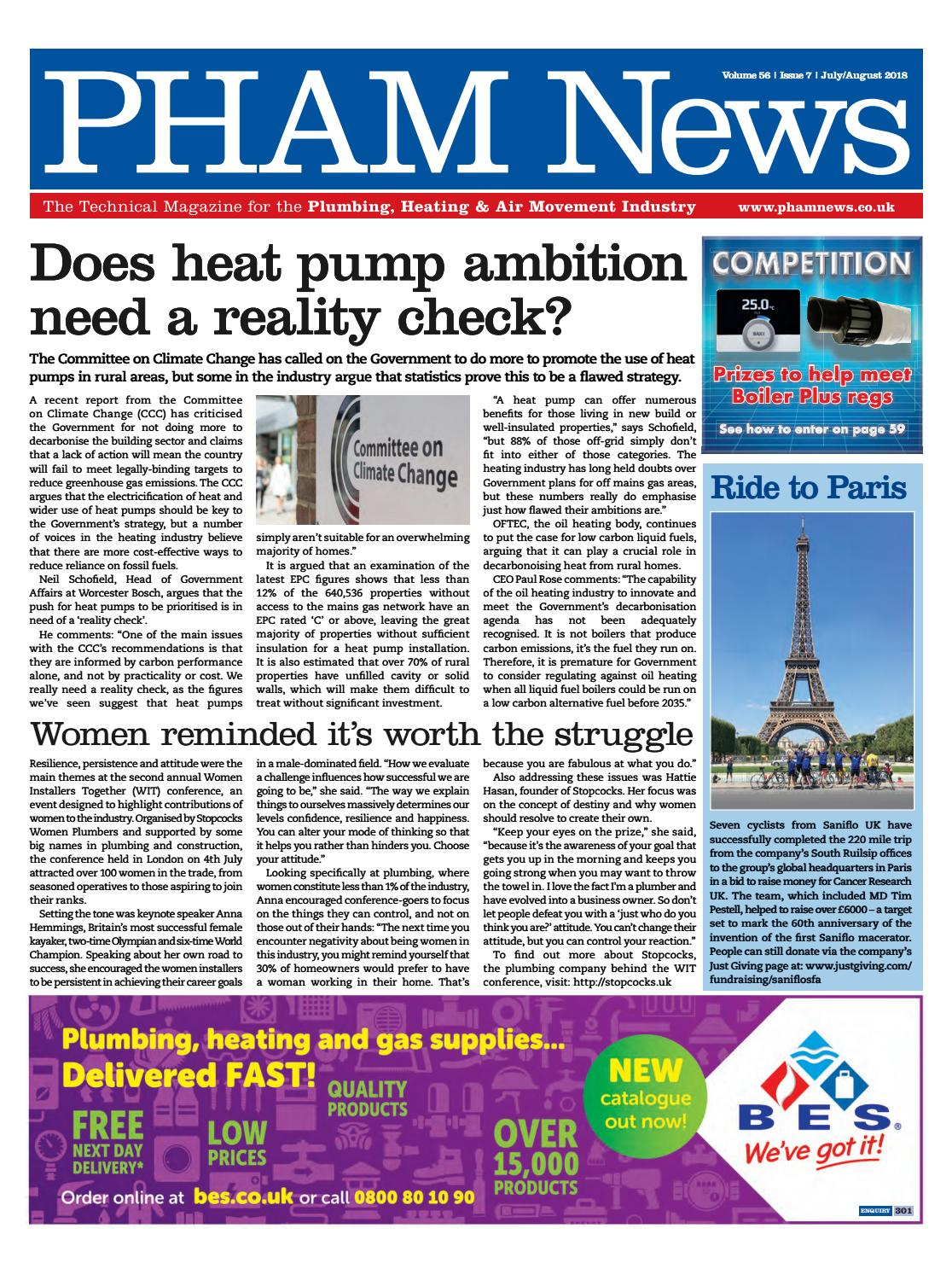 July August 2018 By Pham News Issuu Ariston Andris Lux 30 L 800 Watt Electric Water Heater