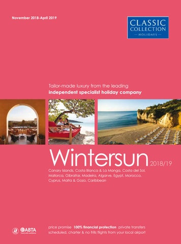 034d9891c28 Classic Collection WinterSun 2018 19 by Travel Designers - issuu
