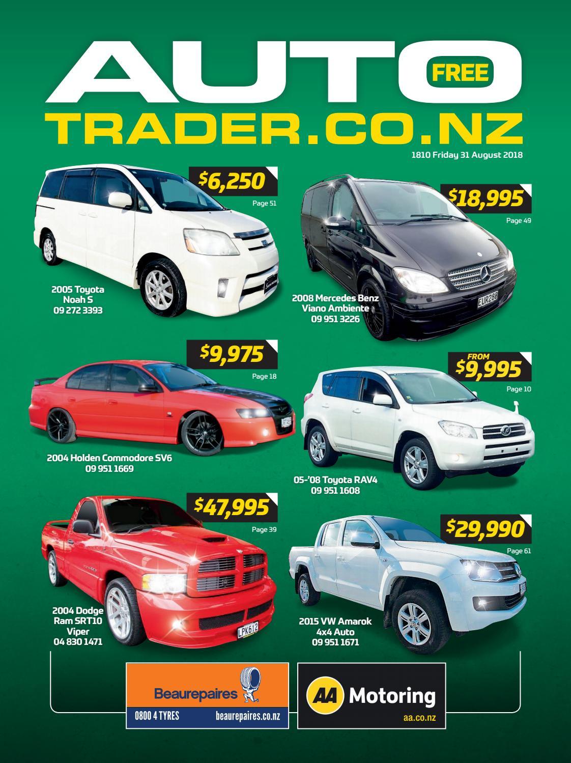 Autotrader NZ - Issue 1810 by AutotraderNZ - issuu