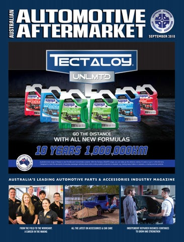 Australian Automotive Aftermarket eMagazine - September 2018