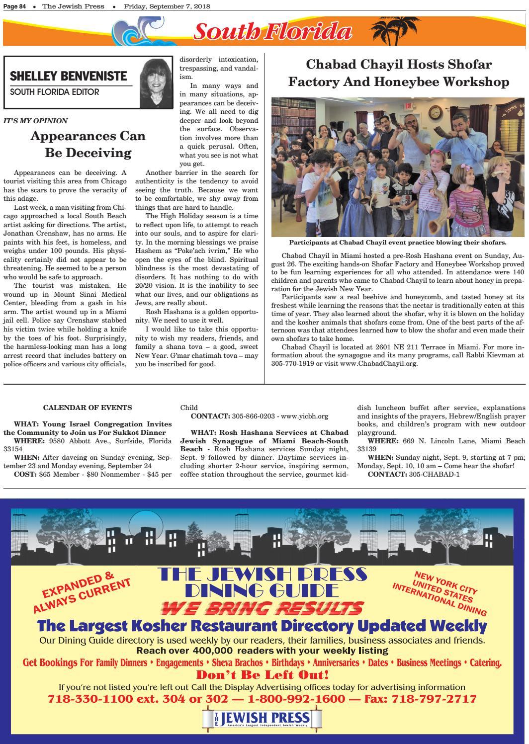 Florida 090718 by JewishPress com - issuu