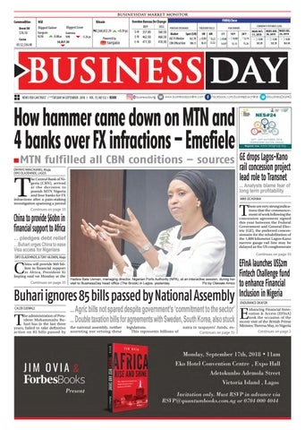 BusinessDay 04 Sep 2018 by BusinessDay - issuu