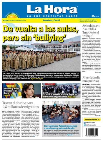 328f206e5 Imbabura 04 de septiembre de 2018 by Diario La Hora Ecuador - issuu