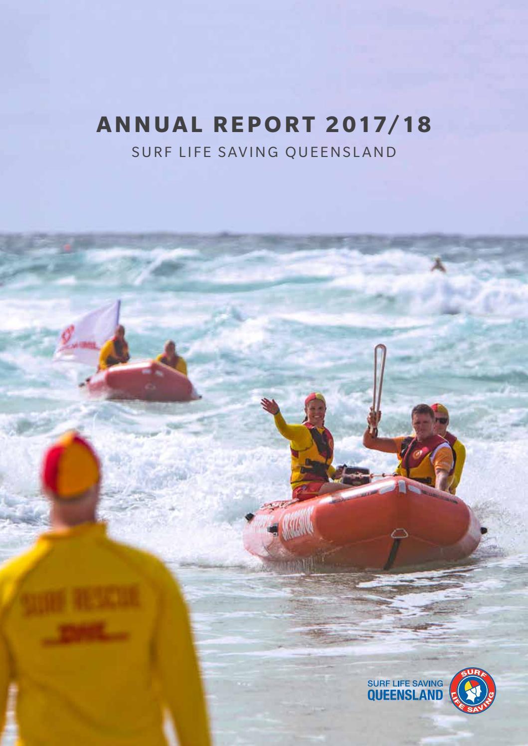 c70390e200f8 Surf Life Saving Queensland Annual Report 2017 18 by Surf Life Saving  Queensland - issuu