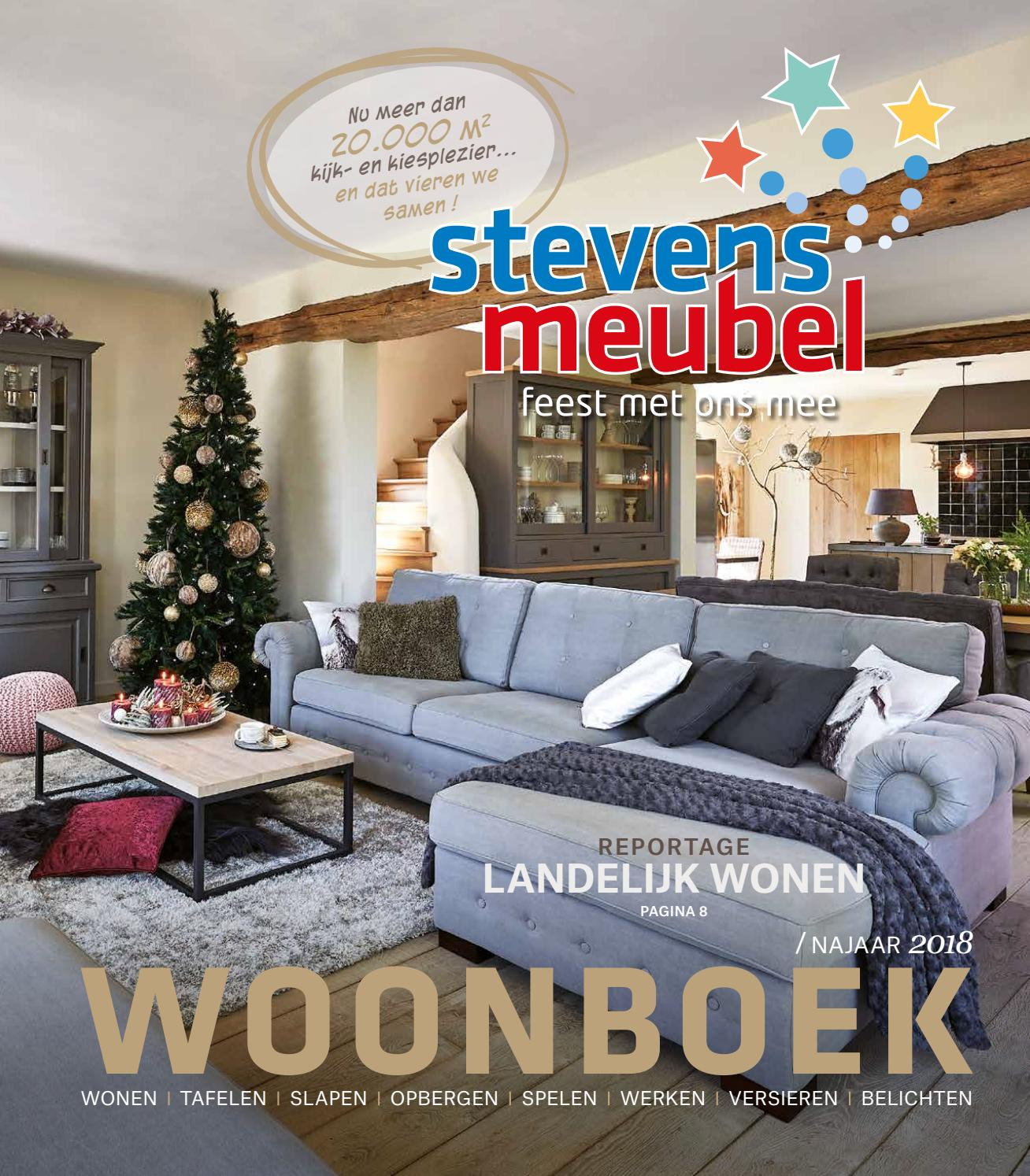 Tv Kast Danny 2 Deuren 8 Laden.Woonboek Winter 2018 By Stevens Meubel Issuu