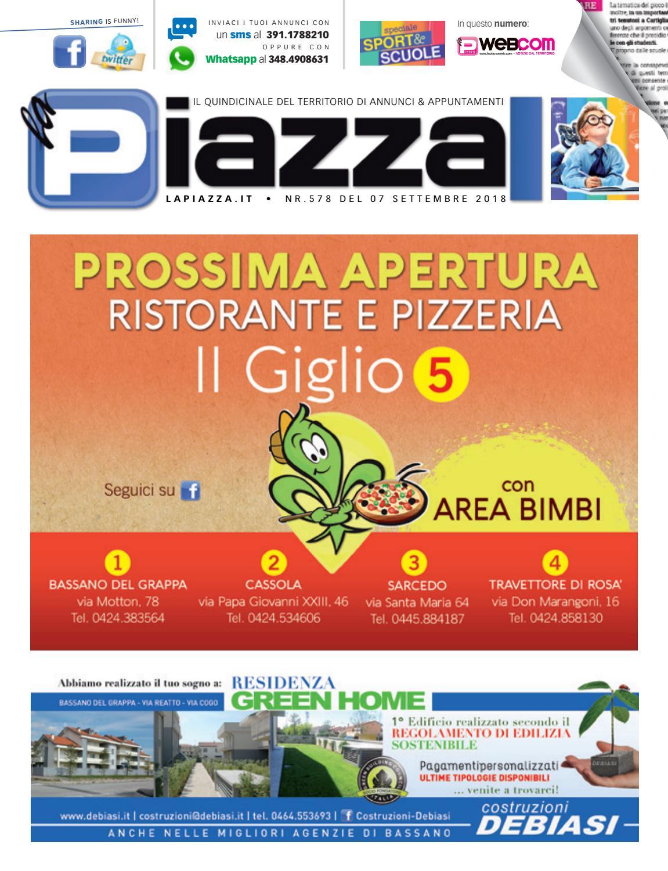 la Piazza 578 by la Piazza di Cavazzin Daniele - issuu 4046a966b0c