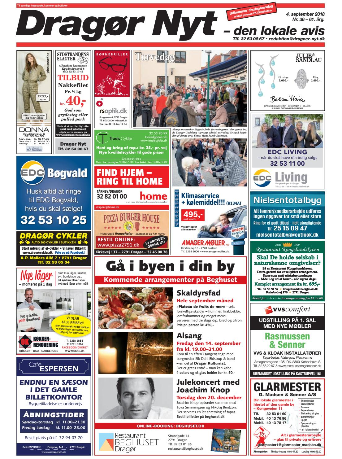 3fa029ce791 Dragør Nyt nr. 36 – 2018 by Starco Grafisk - issuu