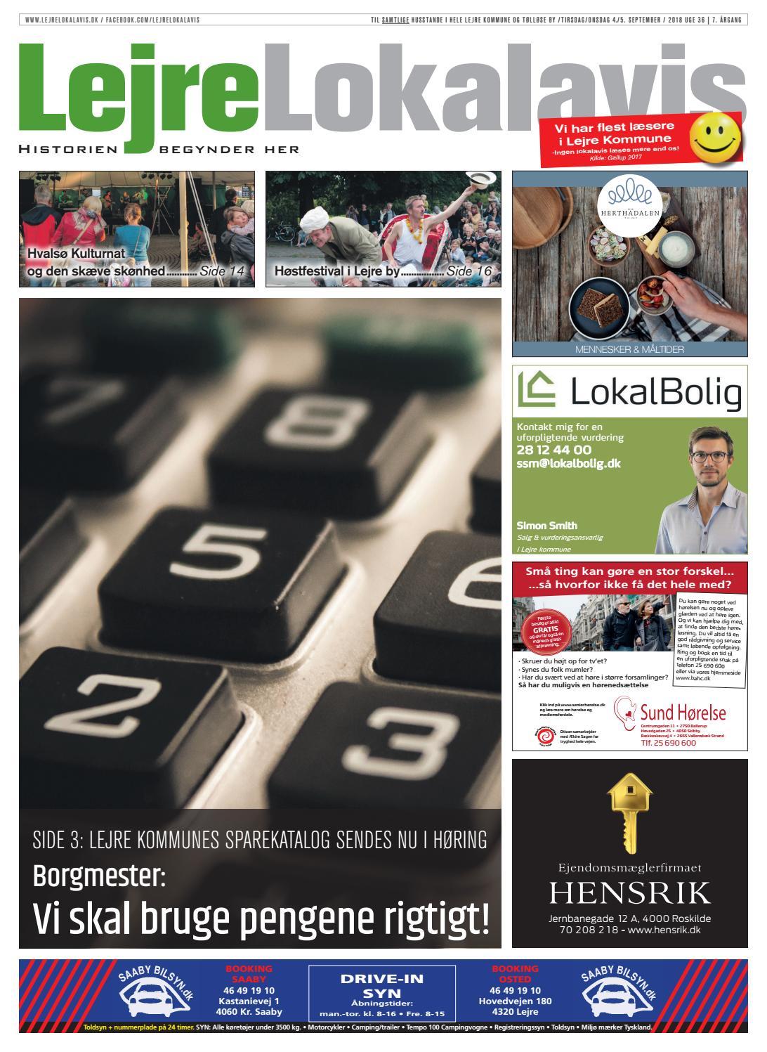 91da200a820 Lejre Lokalavis uge 36-2018 by Lejre Lokalavis - issuu