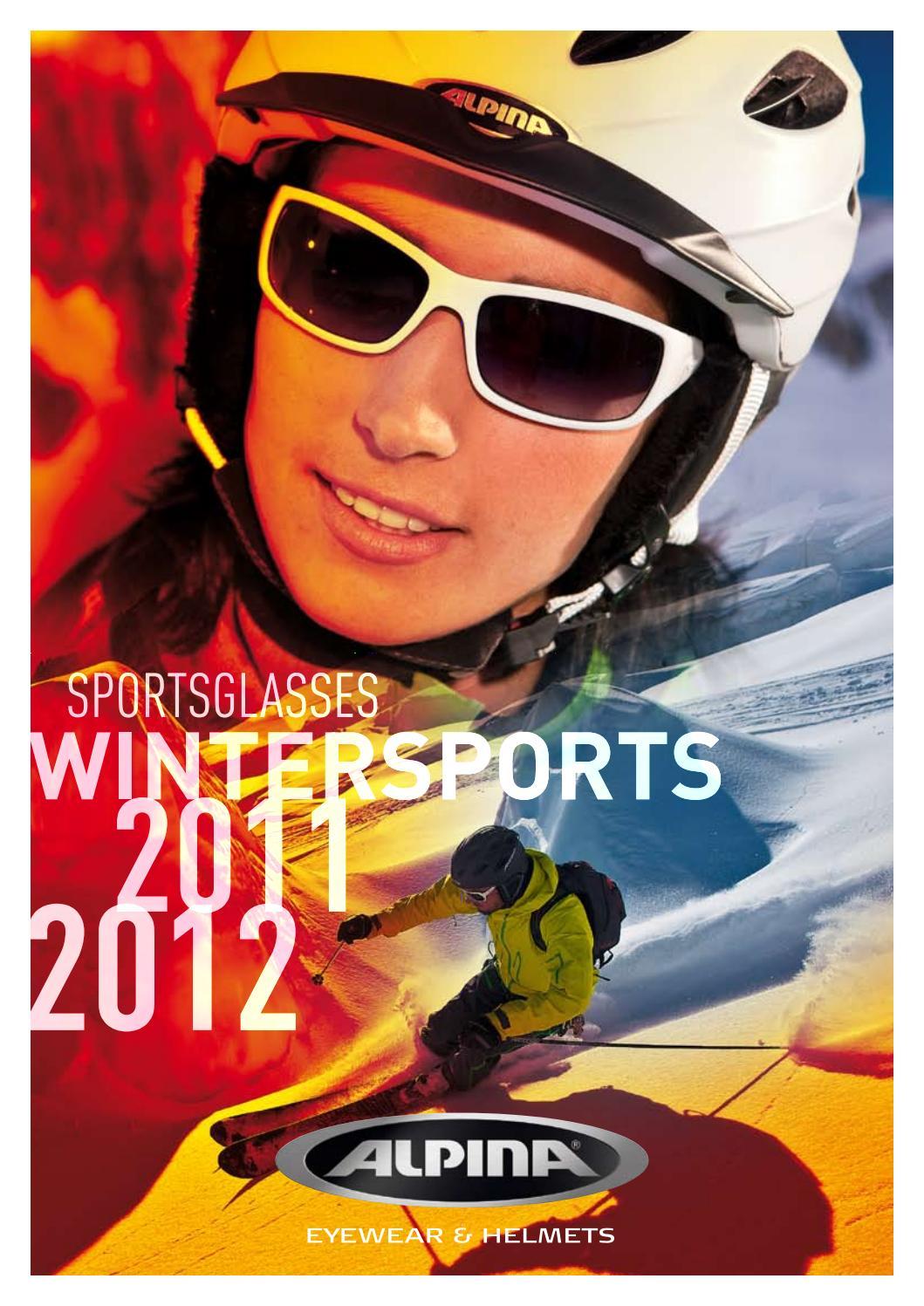 Alpina Dribs Sportbrille lemon