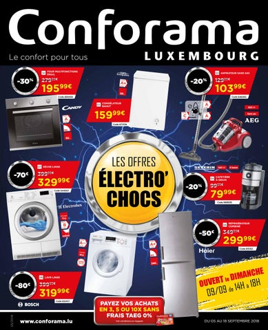 Doc 25 Les Offres électrochocs By Conforama Luxembourg Issuu