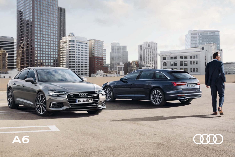 virallinen vakaa laatu ajaton muotoilu Audi A6 -esite 8/2018 by Avidly Agency - issuu
