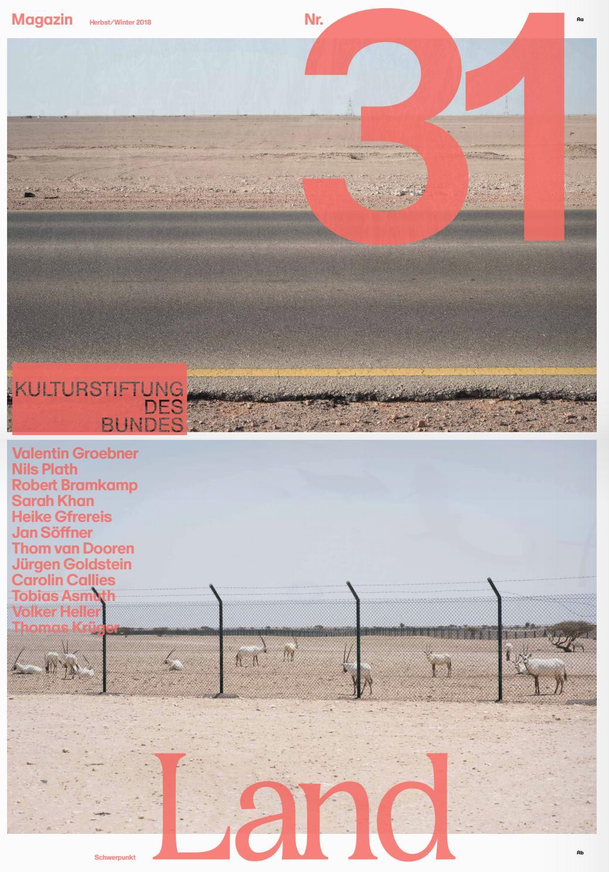 Magazin #31 der Kulturstiftung des Bundes by Kulturstiftung