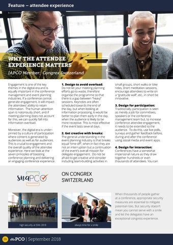 Page 26 of Why the attendee experience matters