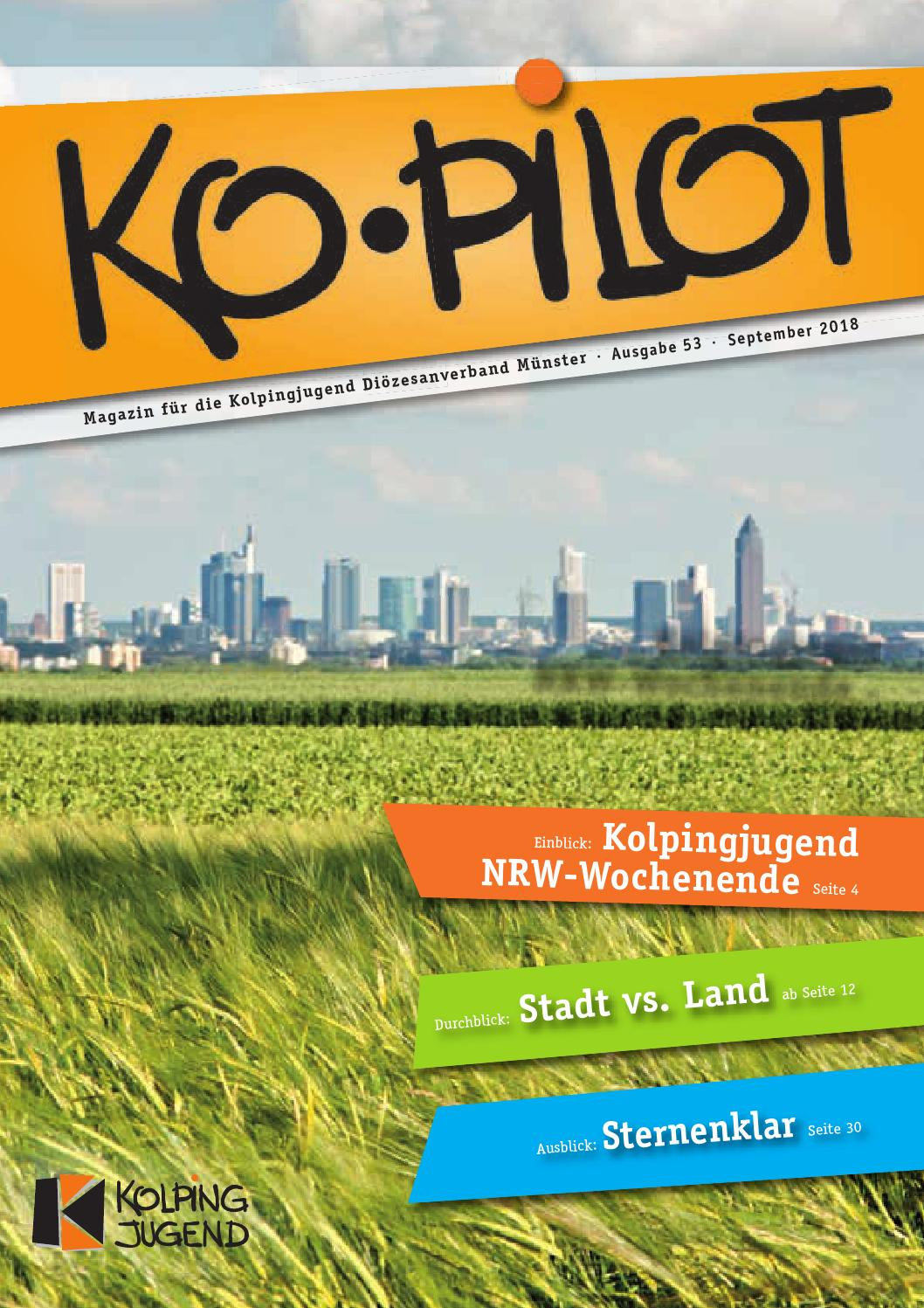 Ko Pilot 53 Durchblick Stadt Vs Land By Ko Pilot Magazin