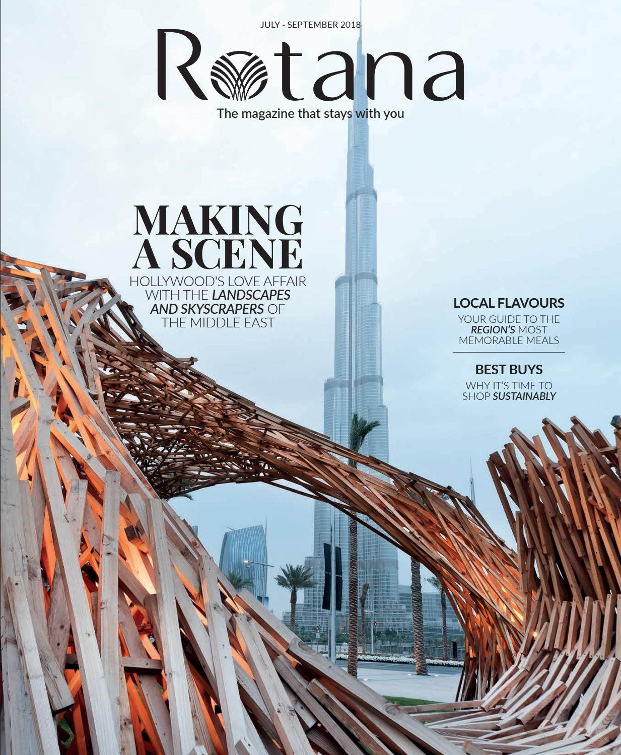 12cd0c261 Rotana July-September 2018 by Rotana Magazine - issuu