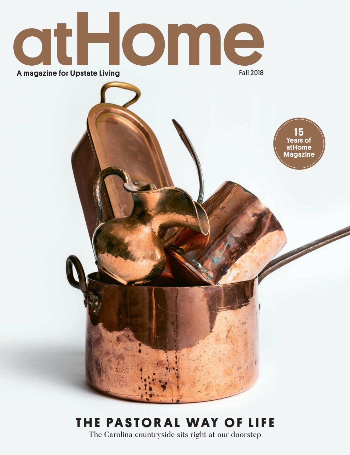 Athome Fall 2018 15th Anniversary Issue By Community