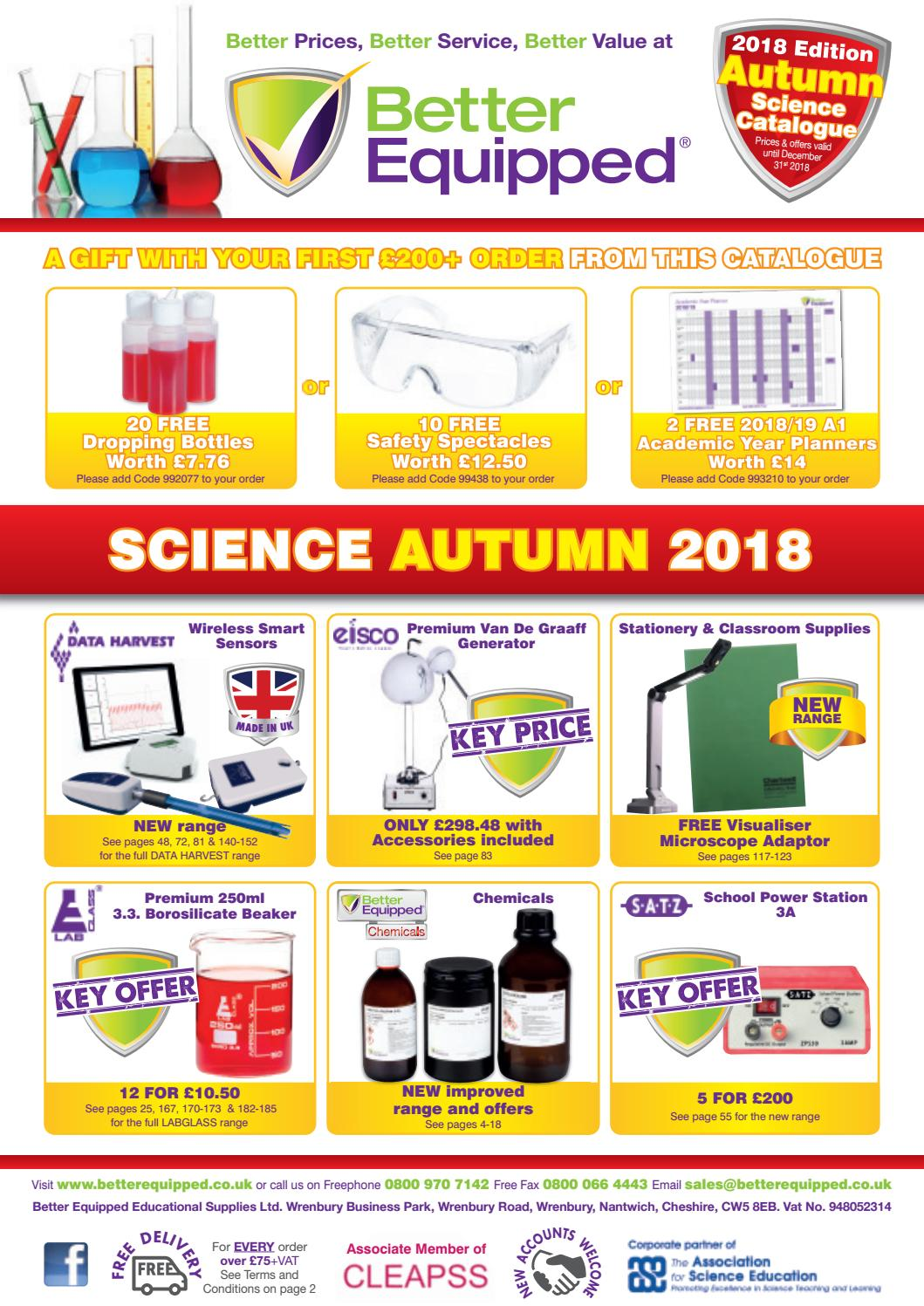 Better equipped educational supplies ltd autumn 2018 science better equipped educational supplies ltd autumn 2018 science catalogue by better equipped issuu fandeluxe