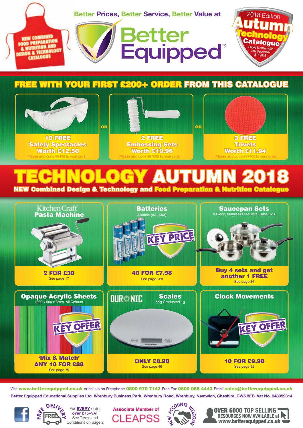 Better Equipped Educational Supplies Ltd Autumn 2018 Technology Wire Diagram For Fan 77075 3 Catalogue By Issuu