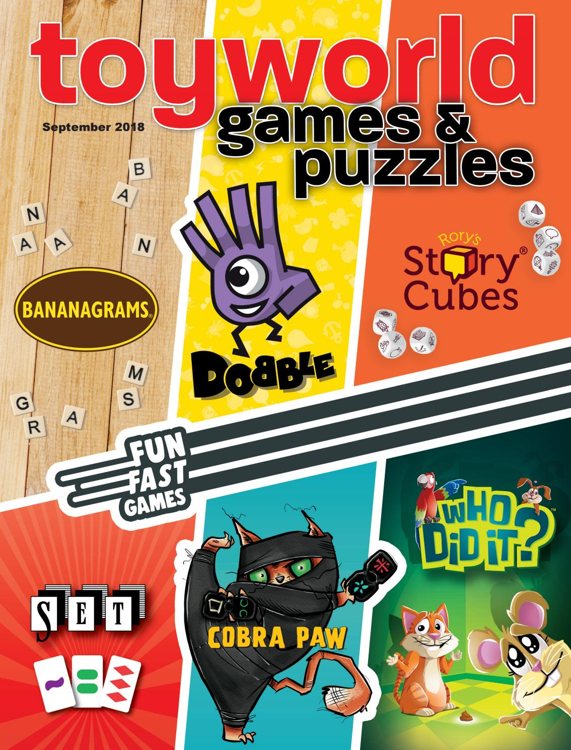a4afdac4f Toy World games   puzzles September 2018 by TOYWORLD MAGAZINE - issuu