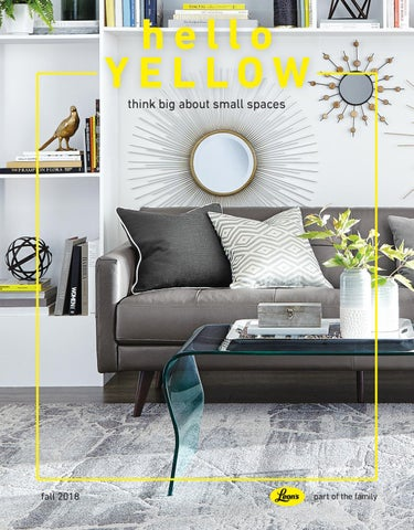 Amazing Hello Yellow Fall 2018 By Leons Furniture Issuu Gamerscity Chair Design For Home Gamerscityorg