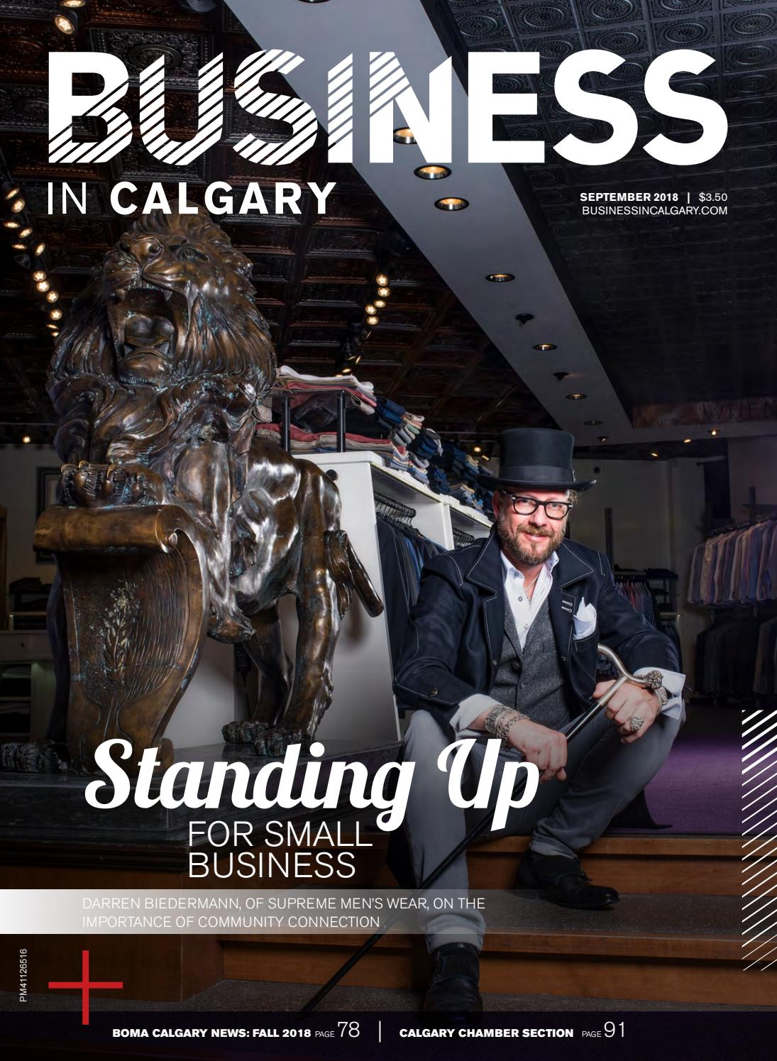 Business in Calgary - September 2018 by Business in Calgary - issuu